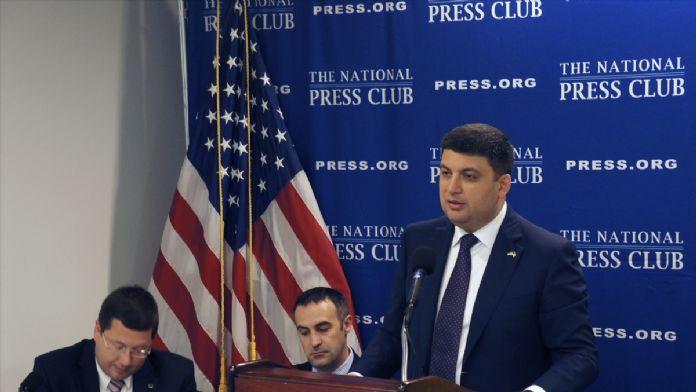 Ukrayna Başbakanı Groysman, ABD'de
