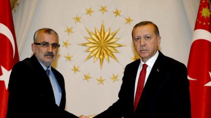 Midyat Belediye Başkanı Nasıroğlu, Cumhurbaşkanlığı Sarayı'nda