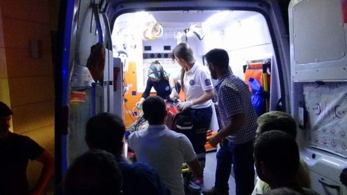Doğalgaz Boru Hattını Onaran İşçi Yaralandı