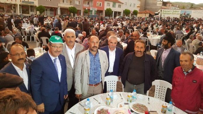 Kayseri Şeker Ramazan Tır'ı Gemerek'teydi