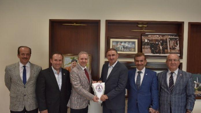 Başkan Kurtulan'a Paşader'den Ziyaret
