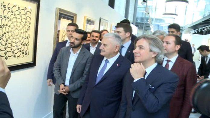 Başbakan Beyoğlu Belediyesini ziyaret etti