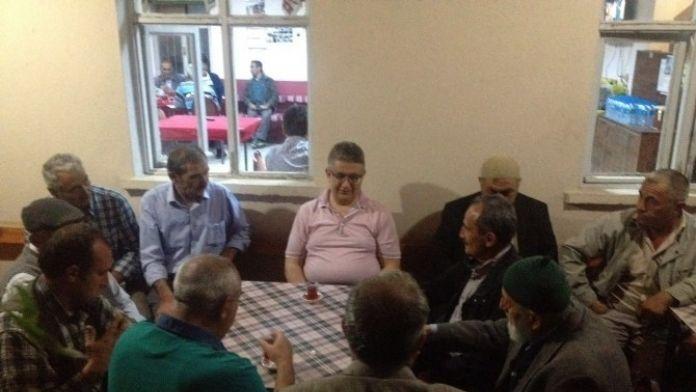 Vali Aykut Pekmez, Sağlık Kasabası'nda Vatandaşlarla Buluştu
