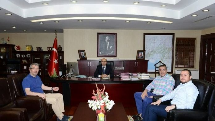 Adanaspor'dan Vali Demirtaş'a 'Hoşgeldin' Ziyareti