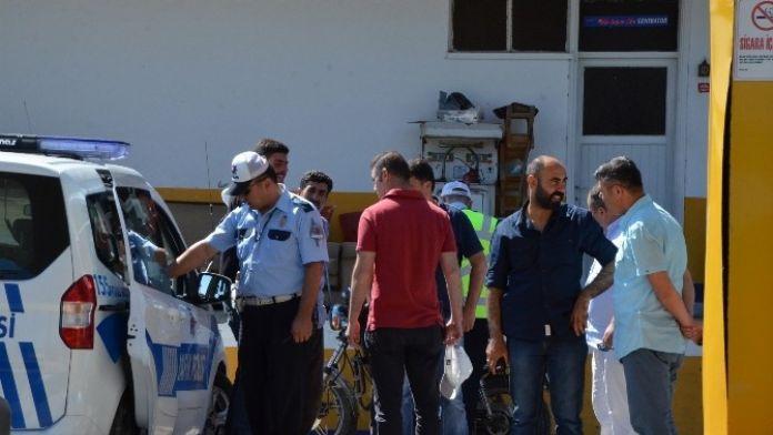 Motosiklet Sürücüsü Polisten Kaçamadı
