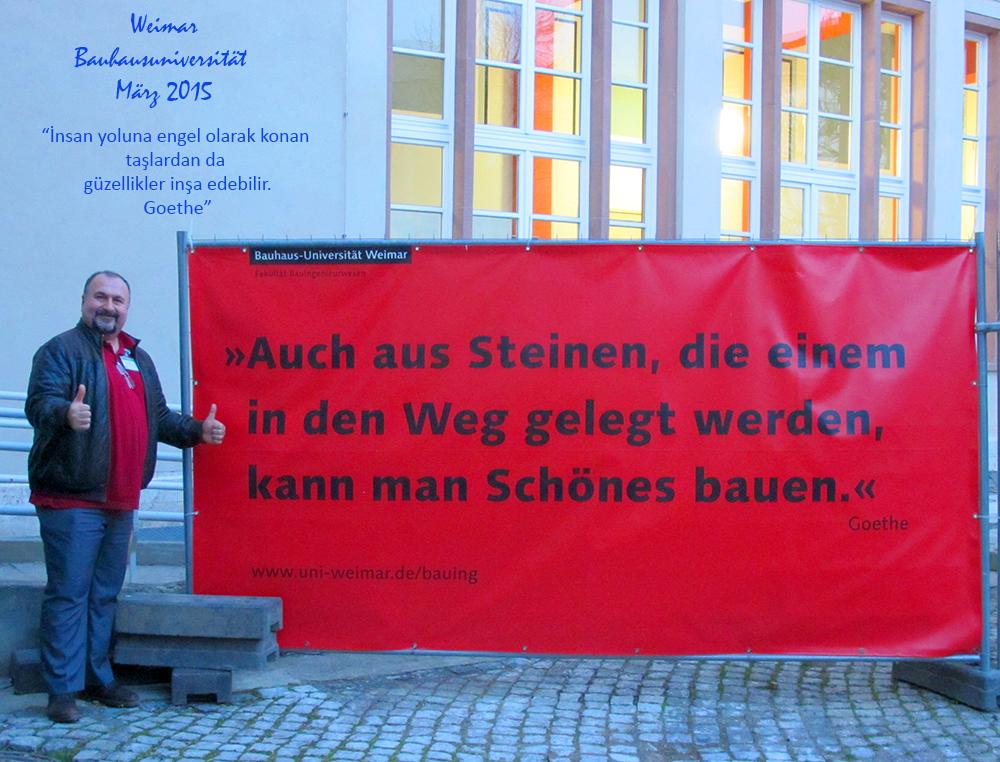 Weimar ve Goethe…
