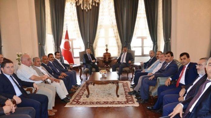 AK Parti Kilis Milletvekili Reşit Polat Vali Çataklı'yı Ziyaret Etti