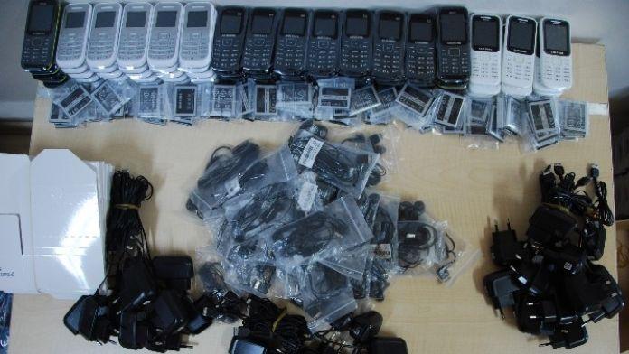 Edirne'de Kaçak Telefon Operasyonu