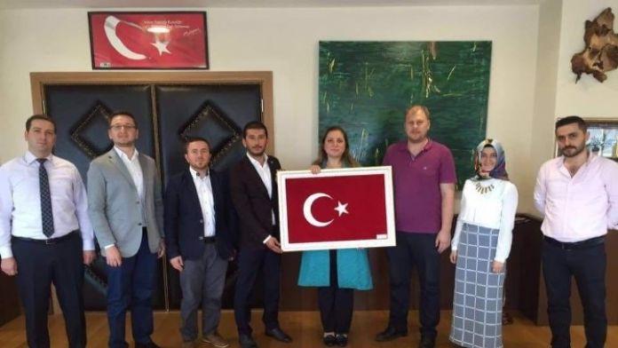 Tügva'dan Rektör Çakar'a Ziyaret