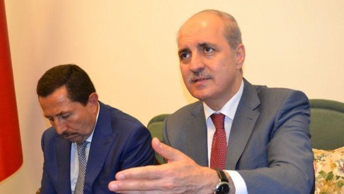 Kurtulmuş: 'Sadece PKK Değil, Arkasındakilerle De Mücadele Ediyoruz'