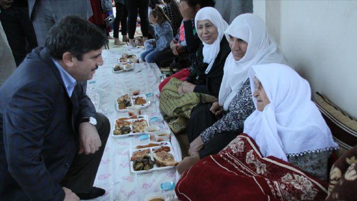 Siirt'te 'kardeşlik iftarı'