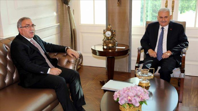 Başbakan Yıldırım, TOKİ Başkanı Turan'ı kabul etti