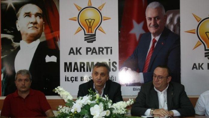 Başkan Ülgen : 'Göreve Geldiğimde Marmaris'te Kaos Ve Düşmanlık Ortamı Vardı '