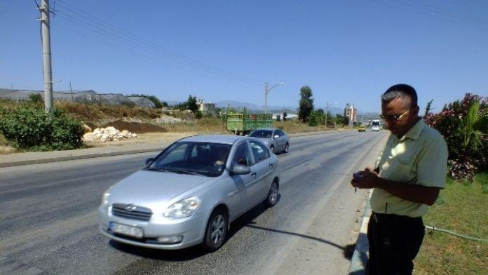 Sivil Trafik Polisleri İş Başında
