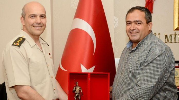 Albay Ölmez'den Başkan Koçak'a Veda Ziyareti