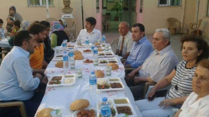 Avanos'ta Kaymakam Eldivan Mahalle İftarına Katıldı