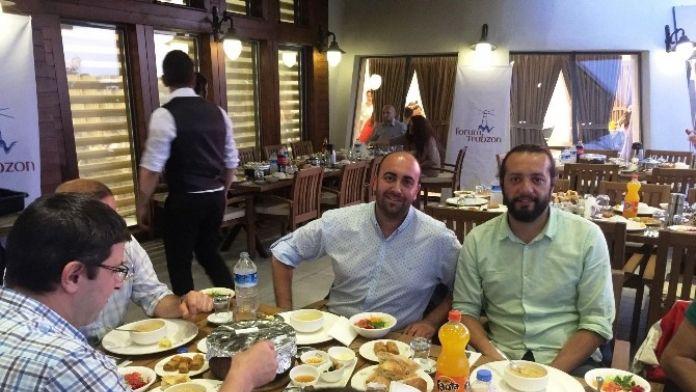 Forum AVM'den Basına İftar Yemeği