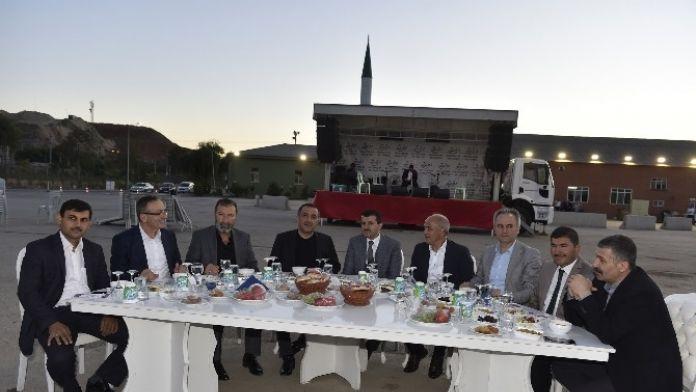 Ankara Büyükşehir Belediyesi Fen İşleri Daire Başkanlığı Personeli İftarda Buluştu