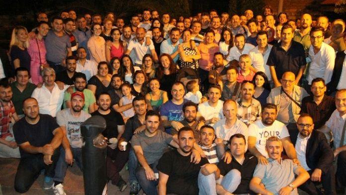 İstanbul'da Çalışan Gazeteciler İftarda Buluştu