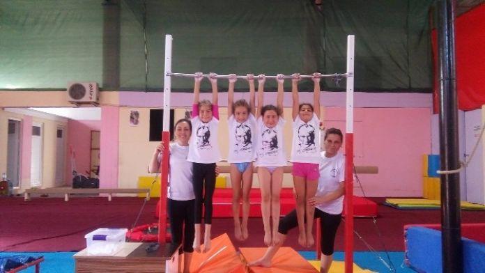 Söke Doğa Spor Kulübü Cimnastikçiler İstanbul'da Aydın'ı Temsil Ediyor