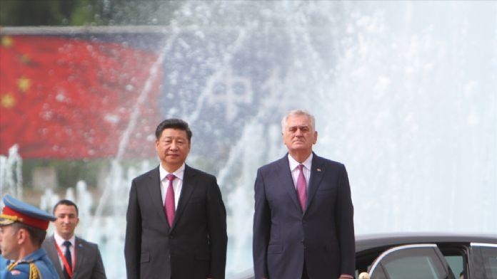 Çin Devlet Başkanı Şi Sırbistan'da