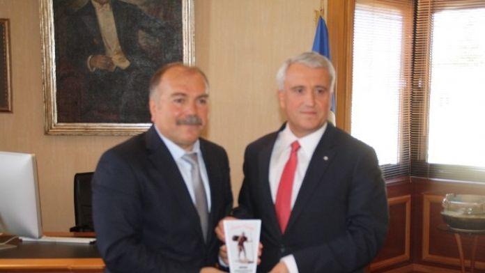 Miyad'dan Rektör Gündoğan'a Nezaket Ziyareti
