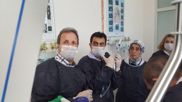 Endobronşial Ultrasonografi'nin (Ebus) Cihazı Kullanılmaya Başlandı