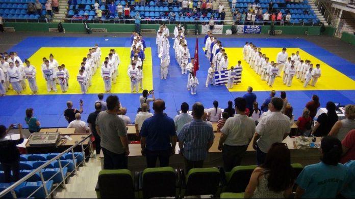 Uluslararası Judo Turnuvası Edirne'de başladı