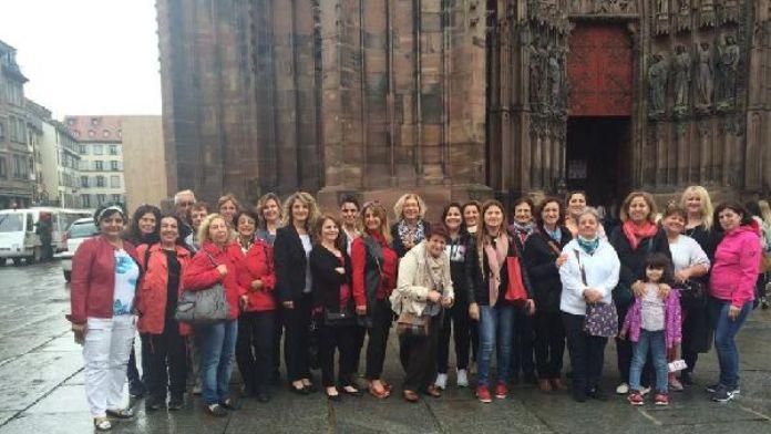 Karlsruhe'li kadınlar Strasburg'u ziyaret etti