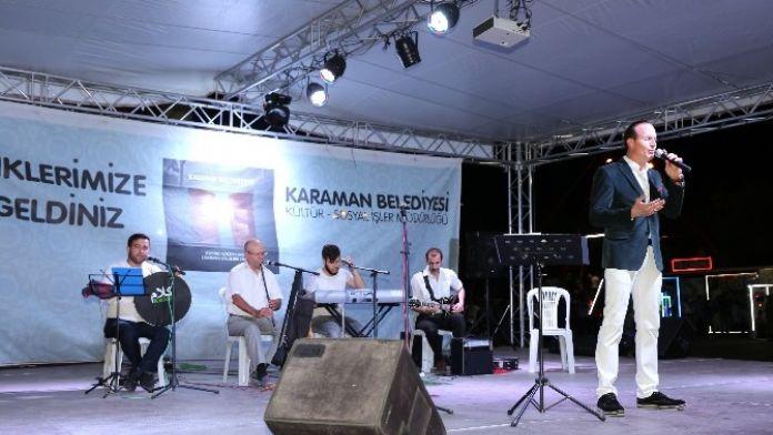 Karaman Belediyesi'nin Ramazan Etkinlikleri Devam Ediyor