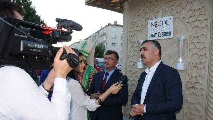 Özegen'den Niğde Belediyesi'ne 'Web TV'uygulamasını Kutladı