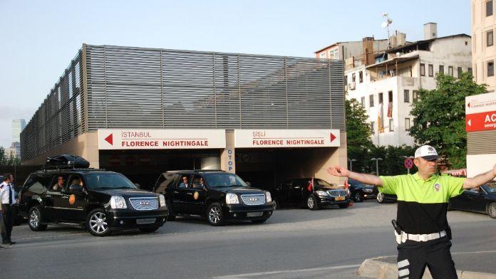 Cumhurbaşkanı Erdoğan'dan Mehmet Barlas'a ziyaret