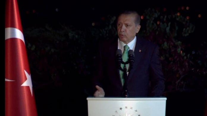 Erdoğan, Arda Turan ve Fatih Terim'e sahip çıktı