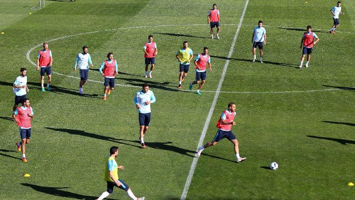 A Milliler Çek Cumhuriyeti maçı hazırlıklarını sürdürdü