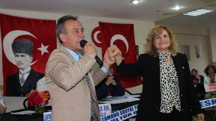 CHP Merkez İlçe Başkanlığına Mehmet Durum Seçildi