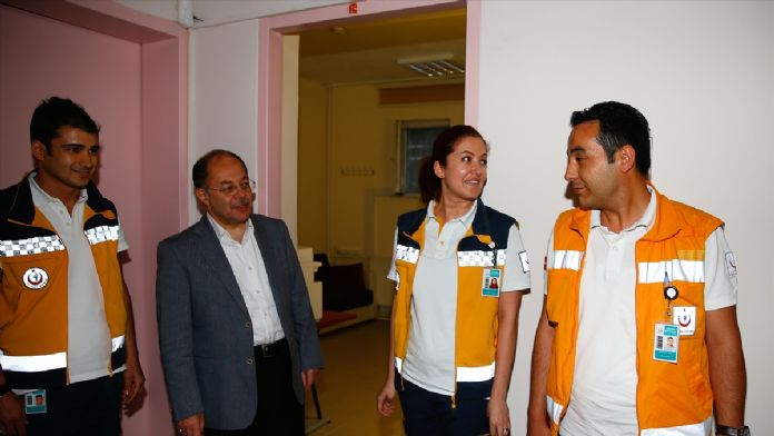 Sağlık Bakanı Akdağ'dan sürpriz ziyaret
