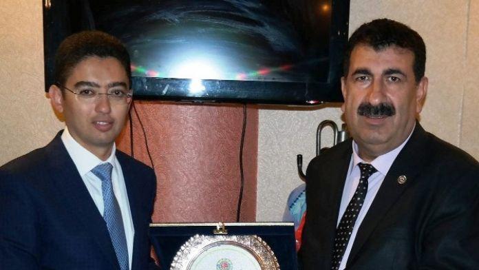 Tüdkiyeb Genel Başkanı Çelik'ten, Cumhuriyet Başsavcısı Topal Onuruna Veda Yemeği