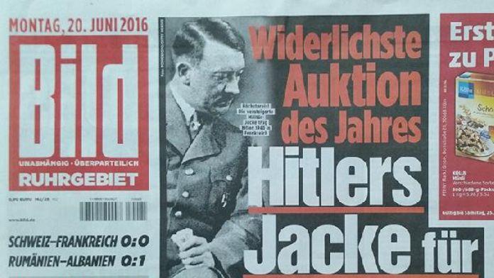 Hitler'in ceketine fahiş fiyat!