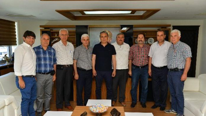 Ziraat Odası'ndan Başkan Uysal'a Ziyaret