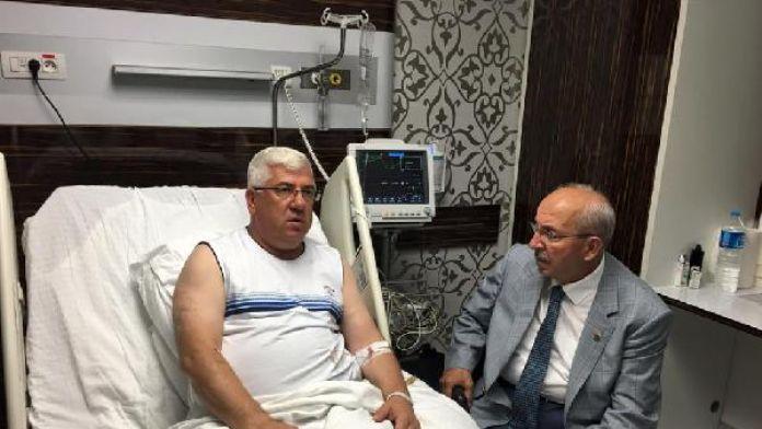 Ergene Belediye Başkanı Rasim Yüksel kalp krizi geçirdi