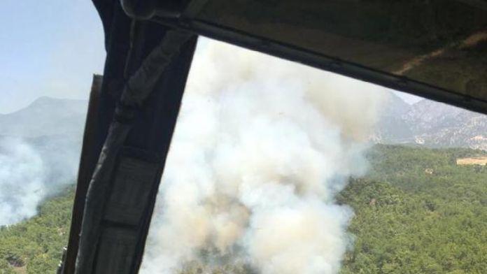Manavgat'ta orman yangını (2) -Yeniden