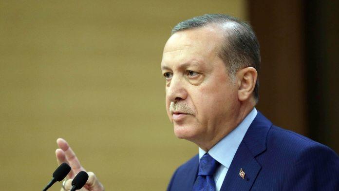 Cumhurbaşkanı Erdoğan'dan anlamlı mesaj