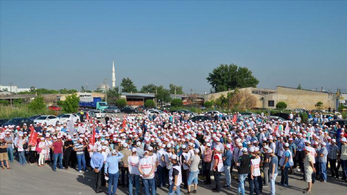 Nestle'nin karacabey fabrikasında grev