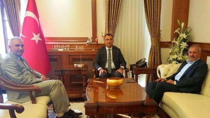 Milletvekili Şahin'den Vali Toprak'a 'Hayırlı Olsun' Ziyareti