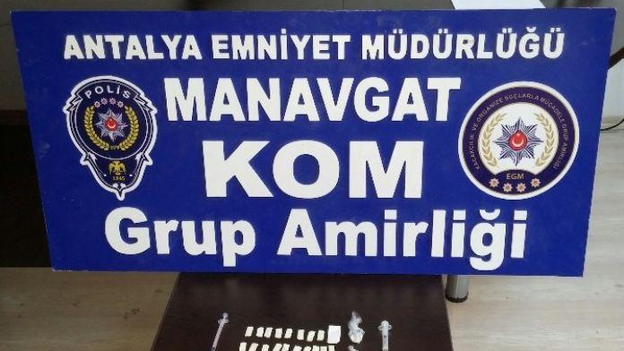 Manavgat'taki Uyuşturucu Operasyonunda 2 tutuklanma