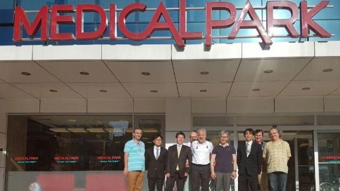 Japon Doktorlar Medical Park'ı Ziyaret Etti