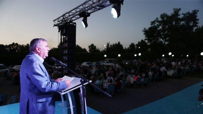 Başkan Toçoğlu Kardeşlik İftarına Katıldı