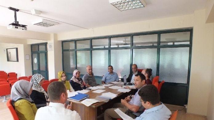 Afyonkarahisar Halk Sağlığı Müdürlüğü Evde Sağlık Hizmetleri Komisyonu Toplantısı Yapıldı