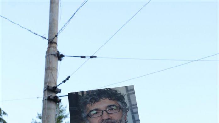 Beyoğlu'nda tutuklanan gazetecilere destek eylemi