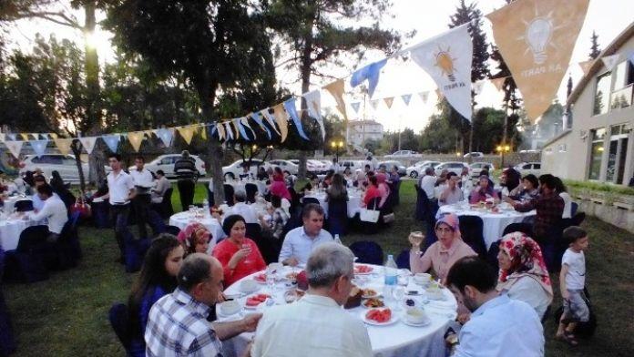 Serik AK Parti Teşkilatı İftarda Buluştu